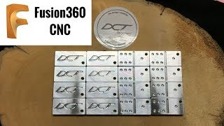Fusion 360 CNC Machined Dominoes Pt.2