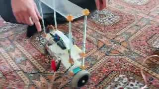2-Wheel Self Balancing Robot by Using Arduino and