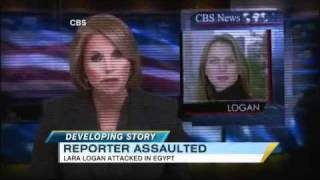 Lara Logan Attacked, Assaulted by Mob of 200 2/16/2011