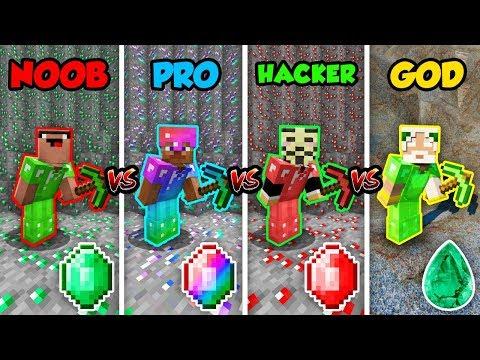 Xxx Mp4 Minecraft NOOB Vs PRO Vs HACKER Vs GOD EMERALD BATTLE In Minecraft Animation 3gp Sex