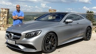 Mercedes S63 AMG Coupe 2015 مرسيدس أس 63 آي أم جي كوبيه