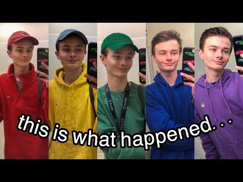 Xxx Mp4 Gay Boy Wears Rainbow Colors To School For A Week 3gp Sex