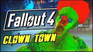 WELCOME TO CLOWN TOWN! | Fallout 4 Maxwell