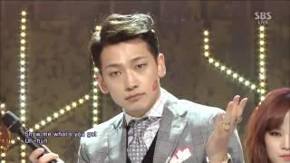 【HD 繁中字】Rain LA SONG@SBS Inkigayo 140126