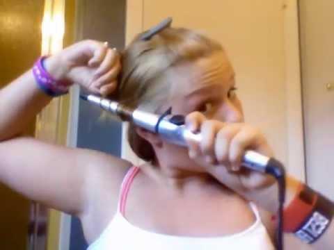 Burning My Hair Off ORIGINAL VIDEO Hair Tutorial Gone Wrong
