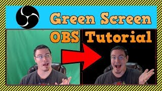 OBS Tutorial: How To Set Up Green Screen in OBS Studio - Chroma Key in OBS |How to Remove Background