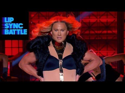 Channing Tatum & Beyonce s Run The World Girls vs. Jenna Dewan Tatum s Pony Lip Sync Battle
