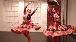 MERE RASHKE QAMAR | Kathak Fusion Dance | Svetlana Tulasi & Shereen Ladha