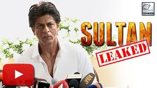 Shahrukh Khan REACTS To Salman's 'Sultan' LEAK | LehrenTV