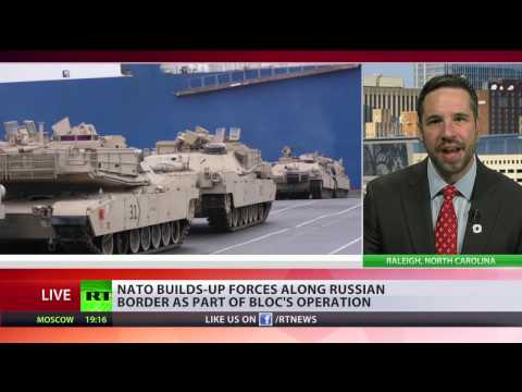 Keep American empire alive' NATO builds up forces along Russian border