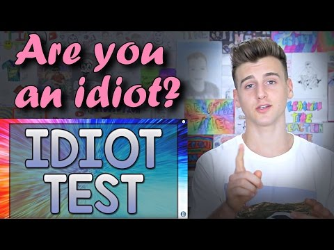 Are You An Idiot Test 90 Fail Reaction