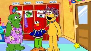 Great ELMO's First Day of School Gameplay for Kids Fun