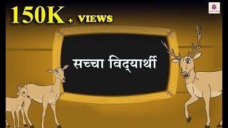 Saccha Vidyarti | Hindi Moral Story For Kids | Bedtime Stories For Children | Periwinkle