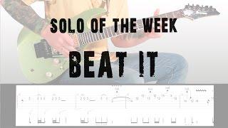 Solo Of The Week: 10 Eddie Van Halen - Beat It tab