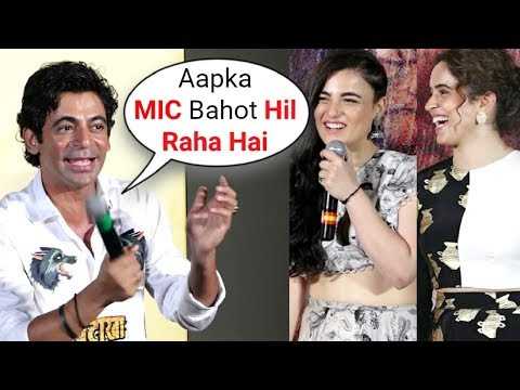 Xxx Mp4 Sunil Grover Double Meaning Joke On Reporter At Patakha Song Launch 3gp Sex