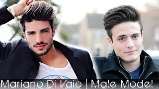 Male Model Hair 2014 | Mariano Di Vaio Hair Tutorial | Men's styling Inspitration