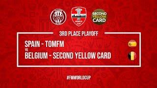 Spain vs Belgium | TomFM vs SecondYellowCard | Football Manager 2018 | #FMWorldCup