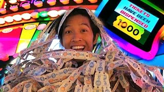 Arcade Hackers!! Spin Jackpot Tutorial!! Too many tickets!