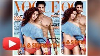 Alia Bhatt and Sidharth Malhotra's  HOT photoshoot for Vogue magazine