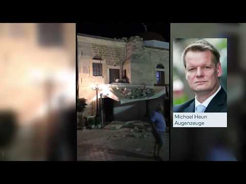 Augenzeuge: So habe ich die Erdbebennacht auf der Insel Kos erlebt