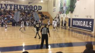 Highlights, postgame comments from Blythewood