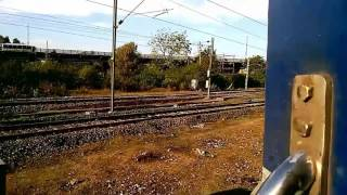 12967 Chennai - Jaipur SF Epress - Itarsi departure, Hoshangabad and Habibganj Arrival