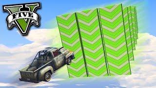 GTA V Online: O ELEVADOR de NITROS com a PICKUP!!