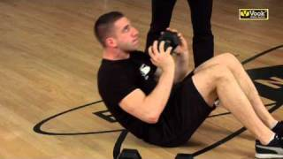 Single Dumbbell Fitness for Beginners - Abdominal Exercises -Vook
