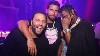 EXCLUSIVE: Travis Scott Seen Partying With Scott Disick in Miami Amid Kylie Jenner Pregnancy News