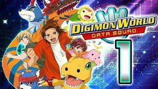 Digimon World Data Squad Walkthrough Part 1 (PS2) [Digimon Savers] Full 1/29