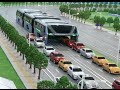 Download Video China's Transit Elevated Bus Debuts at Beijing Intel High Tech Expo 3GP MP4 FLV
