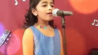Little Baby girl Sing a Song SUN RAHA HAI !! Whatsapp Status Videos !! 2018 !! Viral dance video