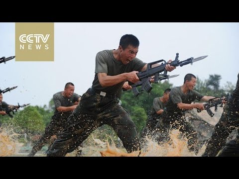 China military reform: PLA's Rocket Force soldiers undergo intense fitness regime