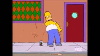 The Simpsons - Homer Drunk Dancing