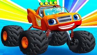 Blaze and the Monster Machines Obstacle Course - Fun Educational Games For Kids By Nickelodeon