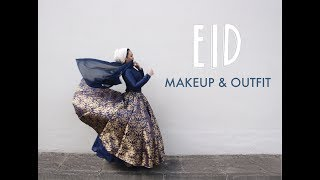EID MAKEUP AND OUTFIT! GRWM
