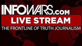 LIVE 📢 Alex Jones Infowars Stream With Today's Shows • Monday 5/21/18