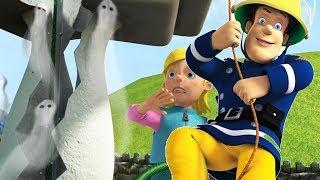 Fireman Sam New Episodes   Garden Ghost!   Halloween with Sam   1 Hour🔥 Cartoon for Children