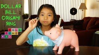 Dollar Bill Origami Ring | Full-Time Kid | PBS Parents