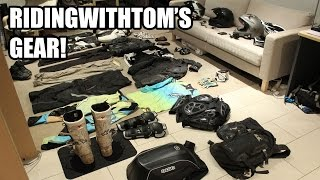 RidingWithTom's Motorcycle Gear!