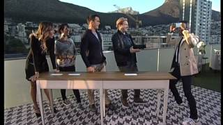 Presenters play 'Sing the Song' game with guests (24 April 2015)