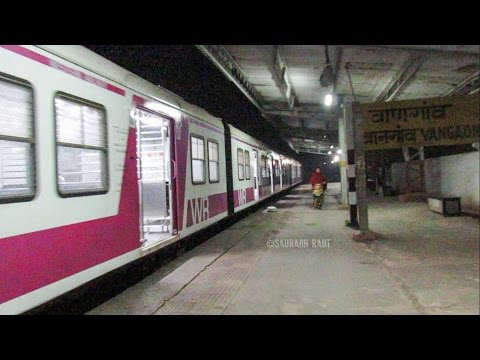 Historic Moment...!! Bombardier EMU Local Serves On Virar - Dahanu Section For the First Time
