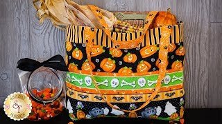 How to Make a Trick-or-Treat Tote   A Shabby Fabrics Sewing Tutorial