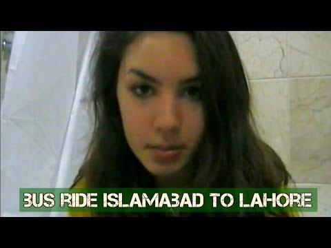 Pakistan: Islamabad to Lahore Bus Ride