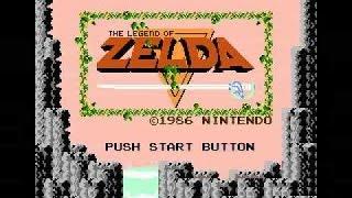 Title Screen / Intro 10 Hours - The Legend of Zelda