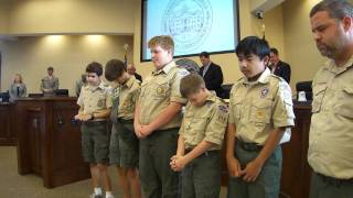 Invocation --Boy Scouts @ LCC 24 May 2011