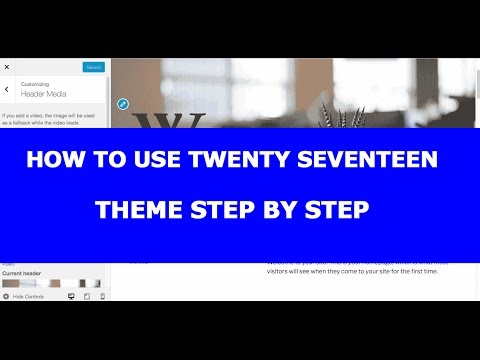 Xxx Mp4 How To Use Twenty Seventeen Theme With WP 4 7 Or Newer 3gp Sex