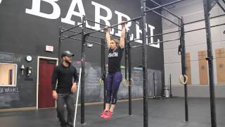 Building Core Strength for Toes to Bar- WOD Tip Wednesday