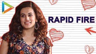 Saif Ali Khan ya Shah Rukh Khan – Taapsee RUMI Pannu's surprising answer | RAPID FIRE