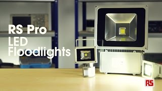 Weatherproof LED Floodlights from RS Pro |RS Components